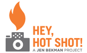 Hey, Hot Shot! Logo