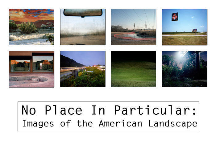 No Place in Particular: Images of the American Landscape Logo