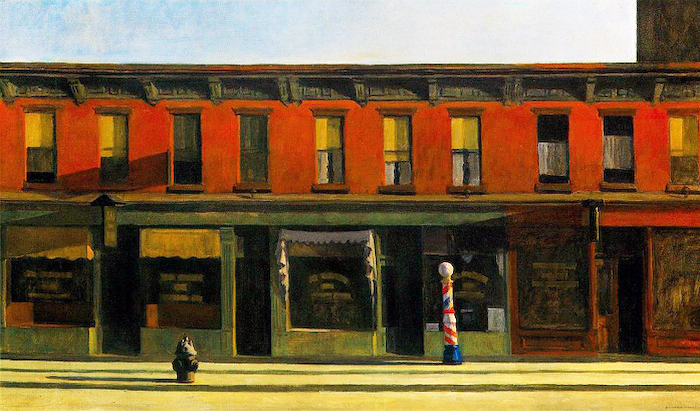 Edward Hopper, Early Sunday Morning, 1930, Painting
