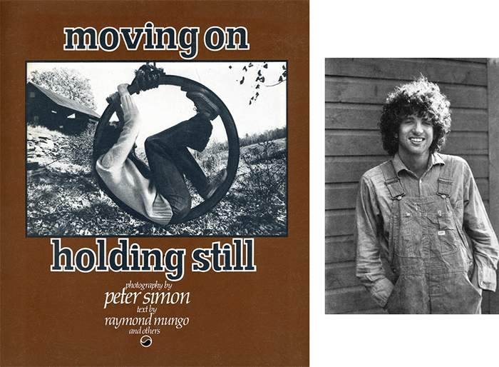 Peter Simon: Moving On, Holding Still, Cover Image